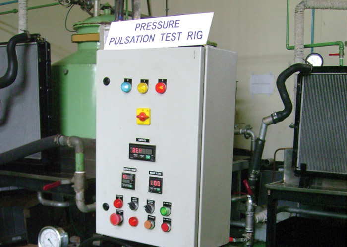 Pressure Pulsation Test